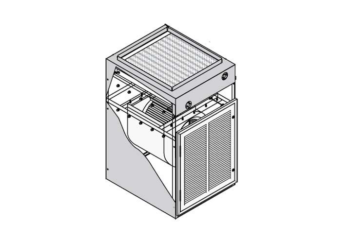 Air Handler Cabinet Back Access Kit for p/n 301