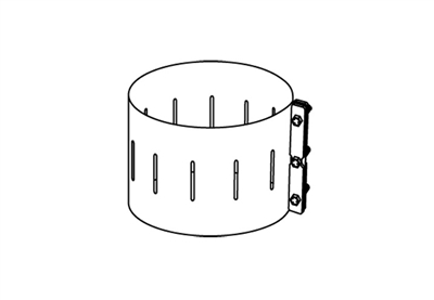 Chimney Band Clamp Kit, 8