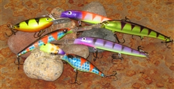 Custom Paint Walleye Lures of the Month Club