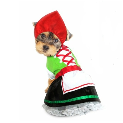 Alpine Girl Oktoberfest Dog Costumes