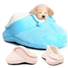 Plush Slipper Dog Beds