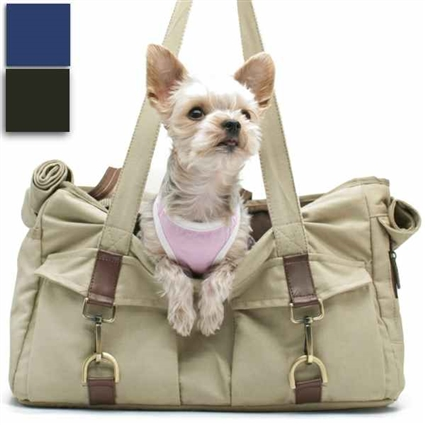 Canvas Buckle Pet Tote