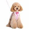 Pink Ruffles and Rhinestones Small Dog Harness