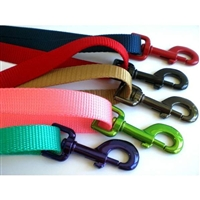 Custom Solid Color Nylon Pet Leashes