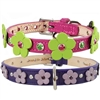 Ellie Flowers Custom Leather Dog Collars