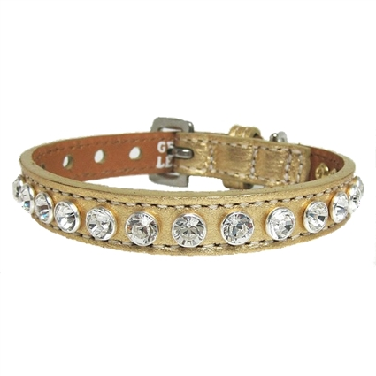 Luxury Leather Dog Collars | Golden Pooch