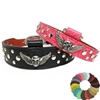 Biker Chic Studded Custom Leather Dog Collars