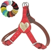 Love My Dog Leather Step-In Dog Harness