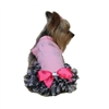 Pink Wild Child Zebra Designer Dog Dress