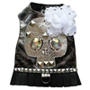 Studded Sugar Skull Designer Dog Harness Vest