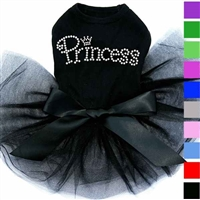 Rhinestone Princess Tutu Dog Dress