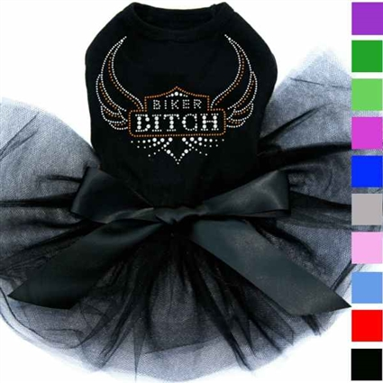Dog Tutu Dress | Motorcycle | Biker Bitch