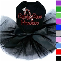 Christmas Dog Dress | Candy Cane Princess