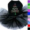 Very Merry Christmas Dog Tutu Dress