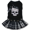 Sugar Skull Schoolgirl Couture Dog Dress