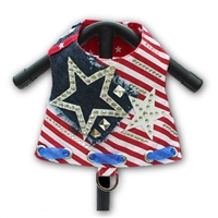 Patriotic Sparkler Designer Dog Harness Vest