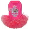 Crystal Sugar Skull Tutu Dog Dress