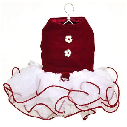 Red Velvet Cupcake Dog Dress | The Doggie Market