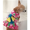Pink Polka Dot Small Dog Harness