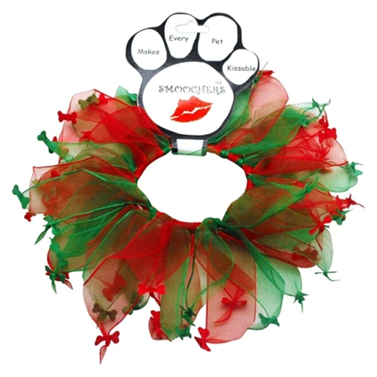 Christmas dog collars | Christmas Bones Pet Smoocher