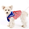 Sailor Stripe Dog Harness Shirt