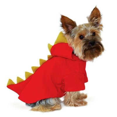 Dog Halloween Costume | Red Dragon