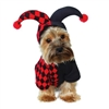 Dog Halloween Costumes | Joker Jester Dog Costume