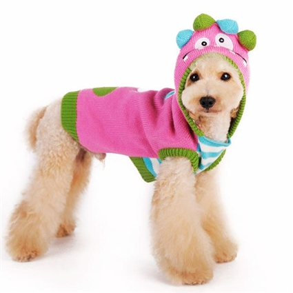 Colorful Monster Dog Sweater