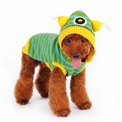 One Eye Monster Dog Sweater