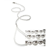 Cat Leash | Crystal Pearls Fashion