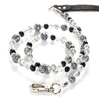 Designer Dog Leash | Snow Leopard Animal Print