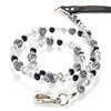 Cat Leash | Snow Leopard Animal Print
