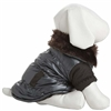 Brown Ultra Fur Small Dog Parka Coat