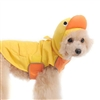Little Yellow Ducky dog raincoat