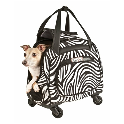 Snoozer Cooper Four-Wheeled Dog Cat Pet Tote