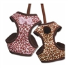 Leopard Print Small Dog Harness