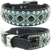 Studded Western Leather Dog Collar | Marley