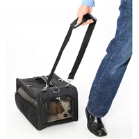 Wheeled Jetway Dog Cat Travel Tote Carrier