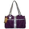 Bon Ami Punk Skull Dog Cat Purse Tote Carrier
