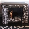 Elegancia Canvas Dog Crate Cage Cover