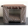 Geometric Canvas Dog Crate Cage Cover