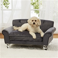 Velvet Luxury Dog Sofa Bed | La Joie