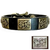 Designer Leather Dog Collars | Boone