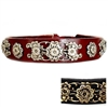 Designer Leather Dog Collars | Sassy