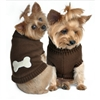 Brown Dog Bone Dog Sweaters