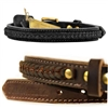 The Braided Genuine Leather Dog Collar