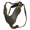 Leather Basic Large Dog Harness