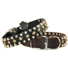Studly Studded Leather Dog Collar