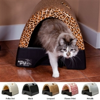 Modern Cat Litter Box with Hood