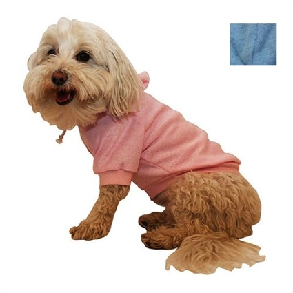 Ultra-Plush French Terry Dog Hoodie